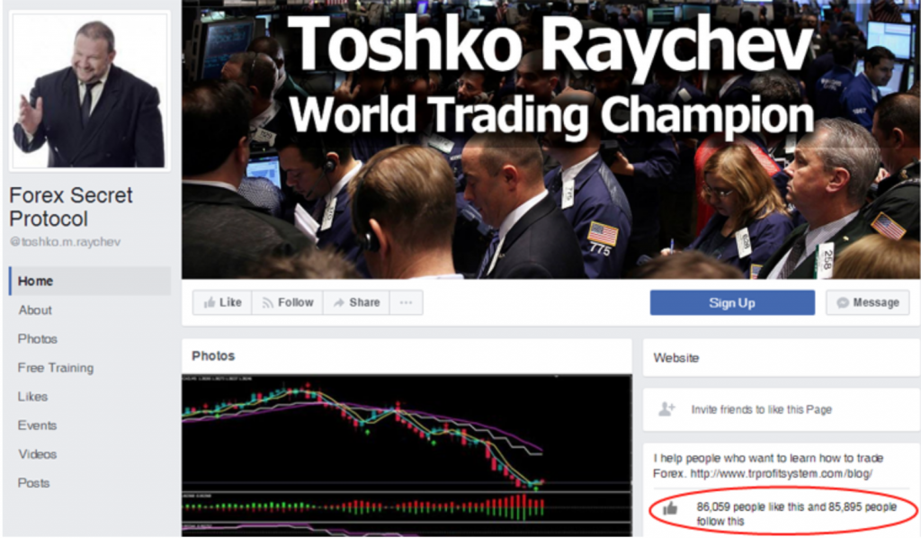 Toshko Raychev, Creator of Ultimate Profit Solution, Sales Page